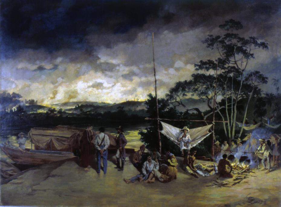 Pouso no Sertão - Queimada, 1826