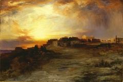 Pueblo at Sunset (Laguna)