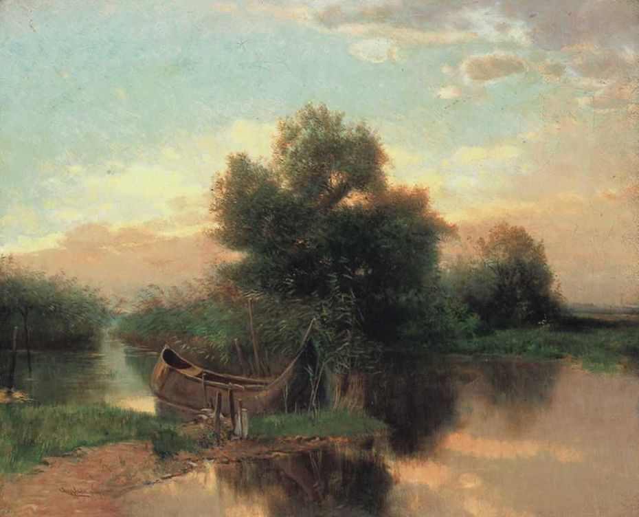 Reed at the Lake Balaton
