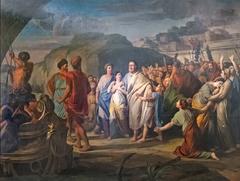 Régulus sort de Rome pour se rendre à Carthage
