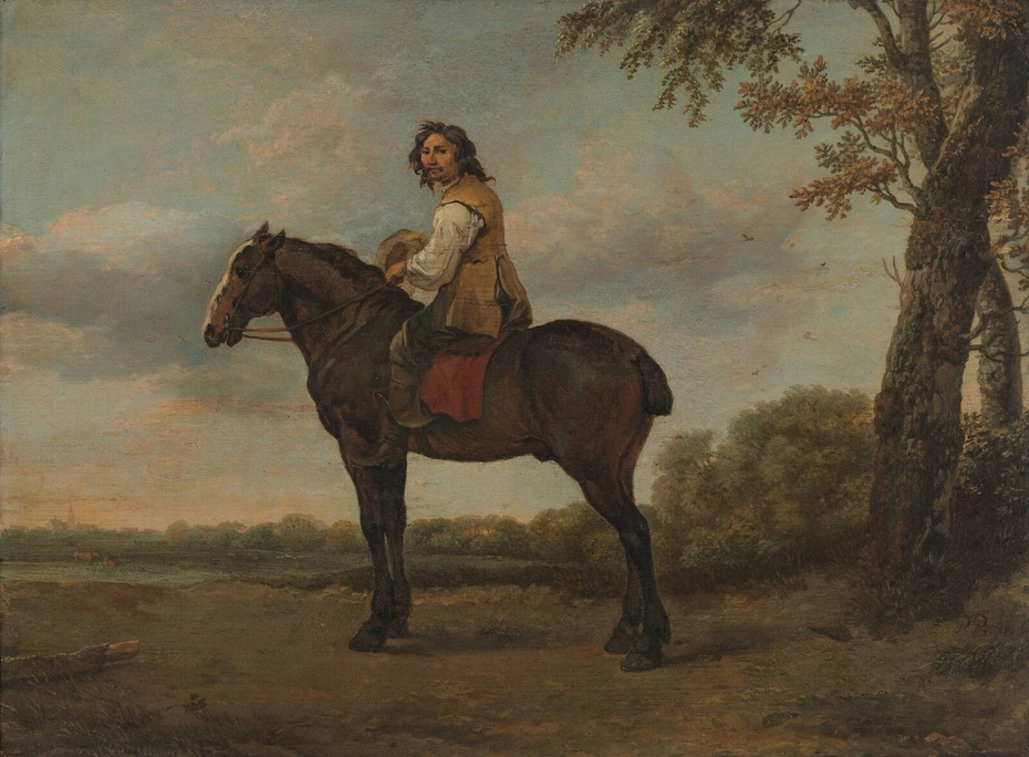 Rider on a Brown Horse