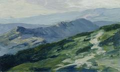 "Riesengebirge (aus der Mappe ""16 Ansichten tschechischer Landschaften 'Česka Krajiná'"")"
