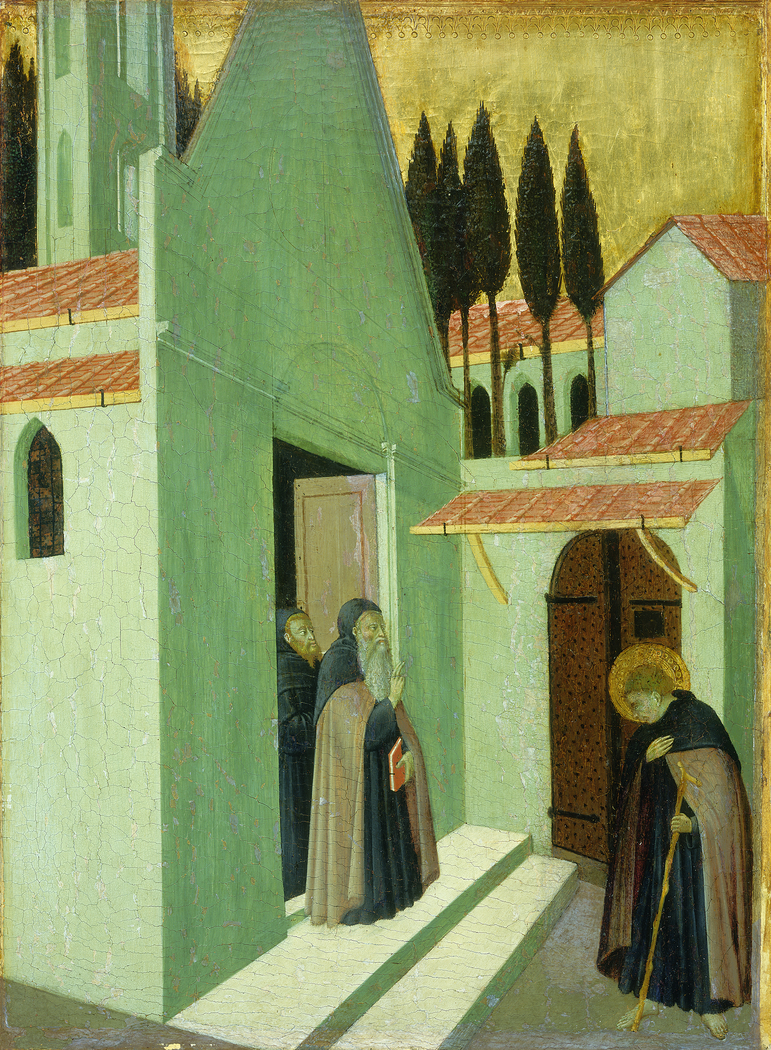 Saint Anthony Leaving His Monastery