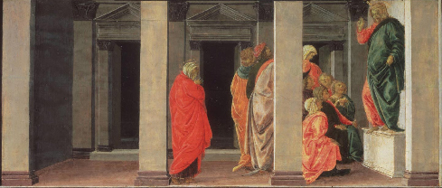 Saint Mary Magdalene Listening to Christ Preach