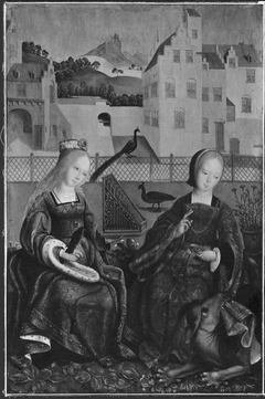 Saints Cecilia and Margaret