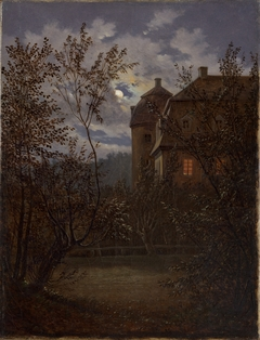 Schloss Milkel in Moonlight