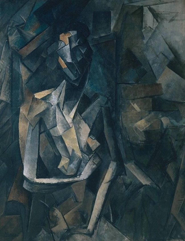 Seated Nude (Femme nue assise)