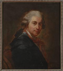 Self-portrait of Bacciarelli in a redingote