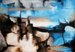 Landscape (The moon of Yves Tanguy)