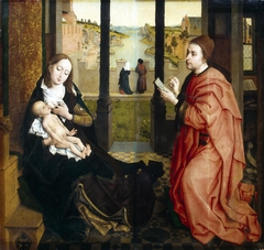 St Luke Drawing the Virgin