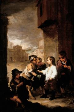 St. Thomas of Villanueva Dividing His Clothes Among Beggar Boys