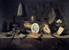 Still-Life with a Head of a Ram