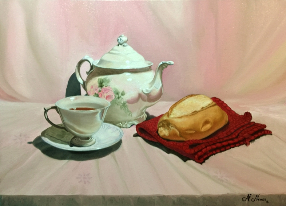 Tea With French Bread
