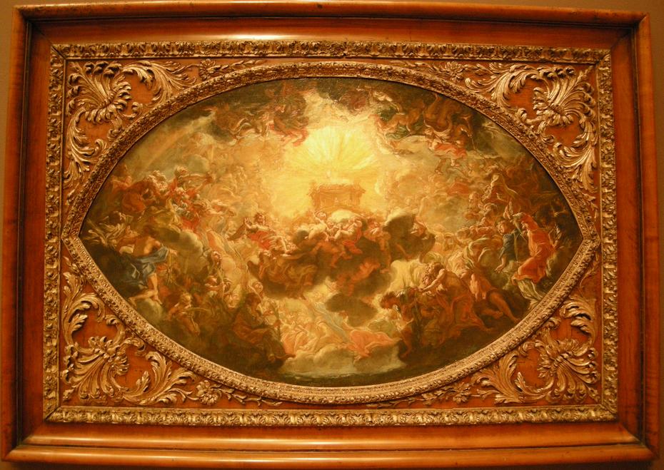 The Adoration of the Lamb (Modello from the apse fresco in Il Gesu, Rome)