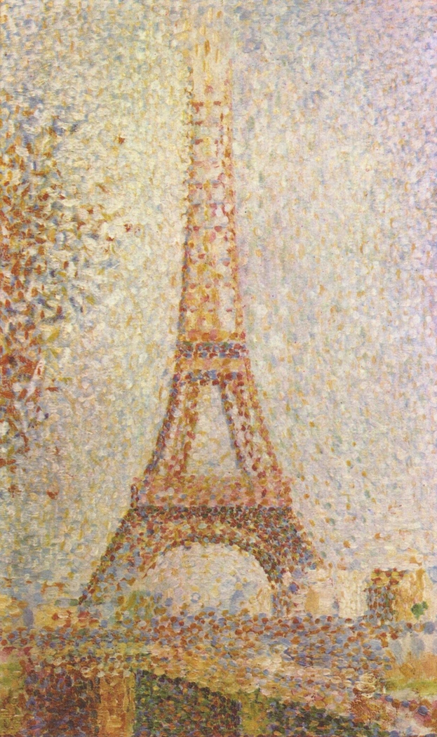 Image result for the eiffel tower george seurat