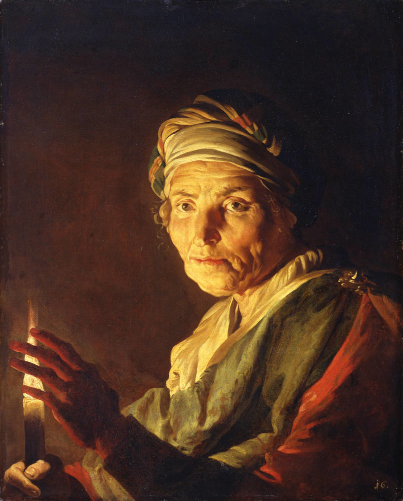 The Elder with a Candle