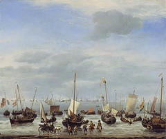The Embarkation of Charles II at Scheveningen