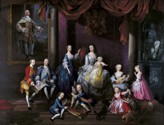 The Family of Frederick, Prince of Wales
