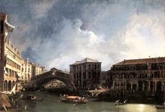 The Grand Canal near the Ponte di Rialto