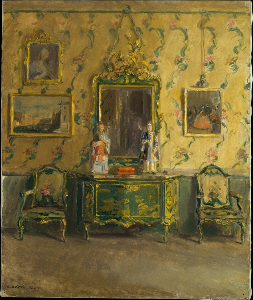 The Green Lacquer Room, Museo Correr, Venice