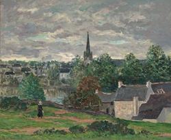 The Village of Rosporden (Finistere)