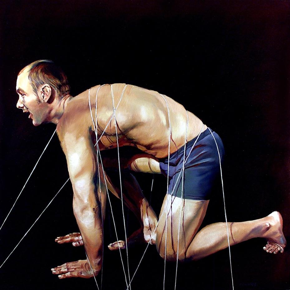 Ties that bind (kneel)
