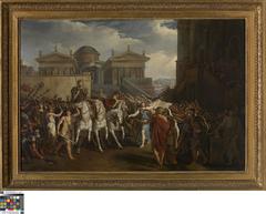Triomftocht van keizer Trajanus