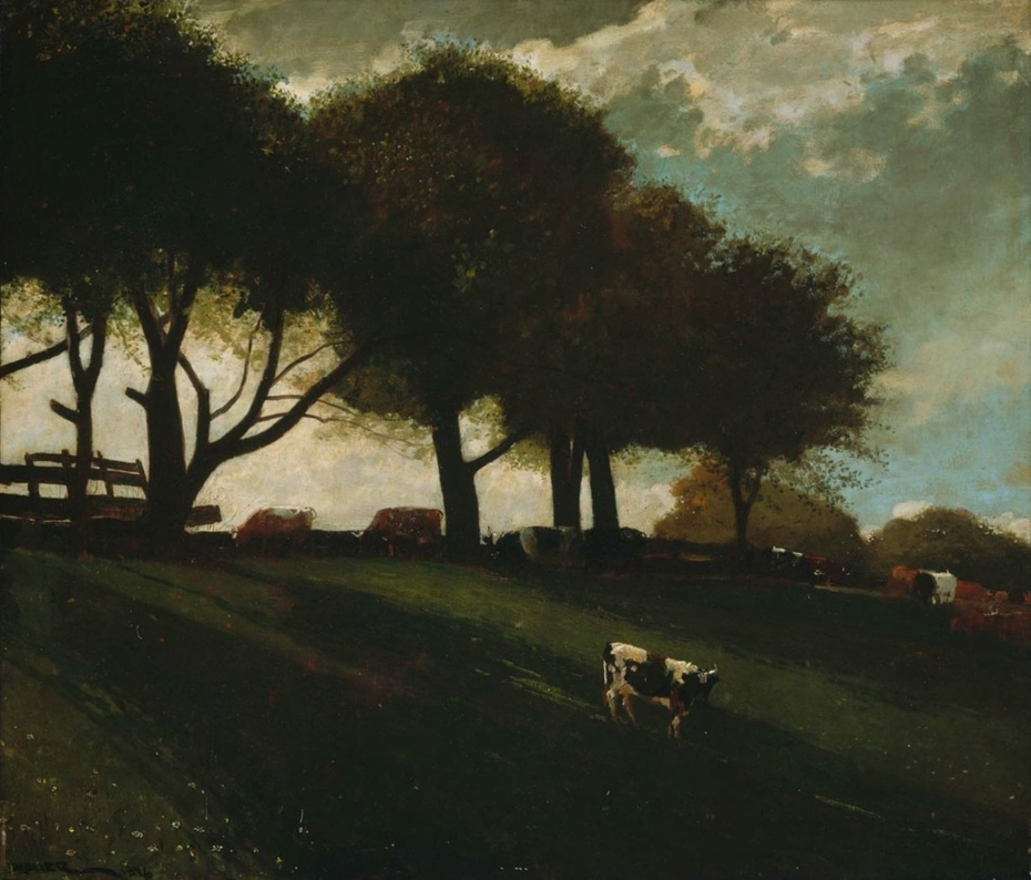 Twilight at Leeds, New York