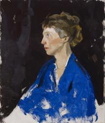 Two Hour Study of Head (Blanche Stillson)