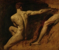 Two male nude studies