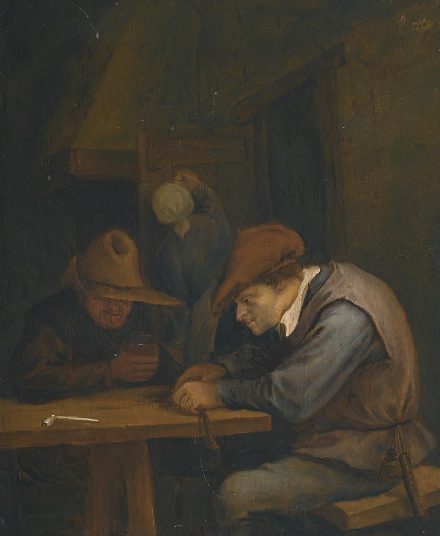 Two Peasants in an Inn