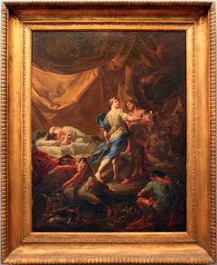 Ulisse e Diomede nella tenda di Reso