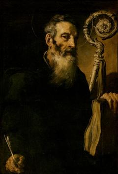 Unknown Saint Abbot (Saint Benedict?)