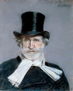 Portrait of Giuseppe Verdi