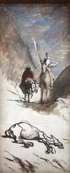 Don Quixotte and the Dead Mule