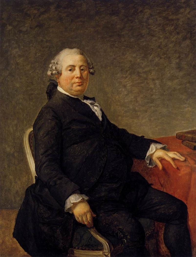 Portrait of Philippe-Laurent de Joubert