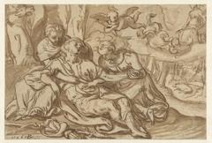 Venus beweent de dode Adonis