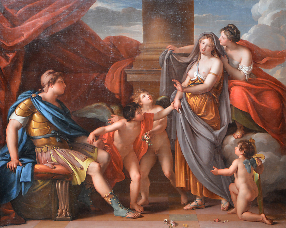 Venus Presenting Helen to Paris