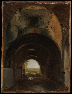 View in the Stables of the Villa of Maecenas, Tivoli