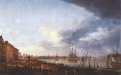 View of Bordeaux Harbor