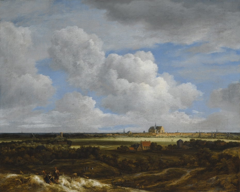 View of Haarlem (Haerlempje)