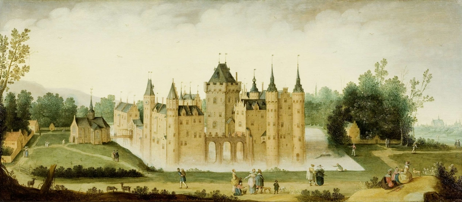 View of the Castle at Egmond aan den Hoef