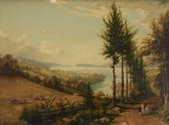 View of the Hudson from Horton's Road near Croton