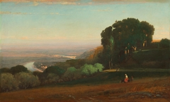 View of the Tiber near Perugia