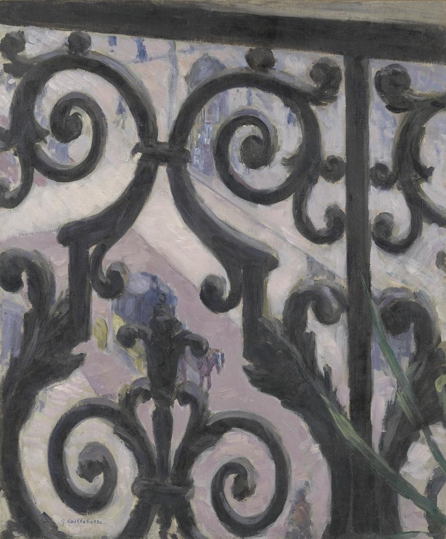 View Seen Through a Balcony