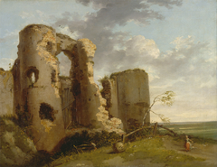 West Gate of Pevensey Castle, Sussex