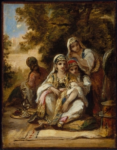 Young Women in Turkish Costume
