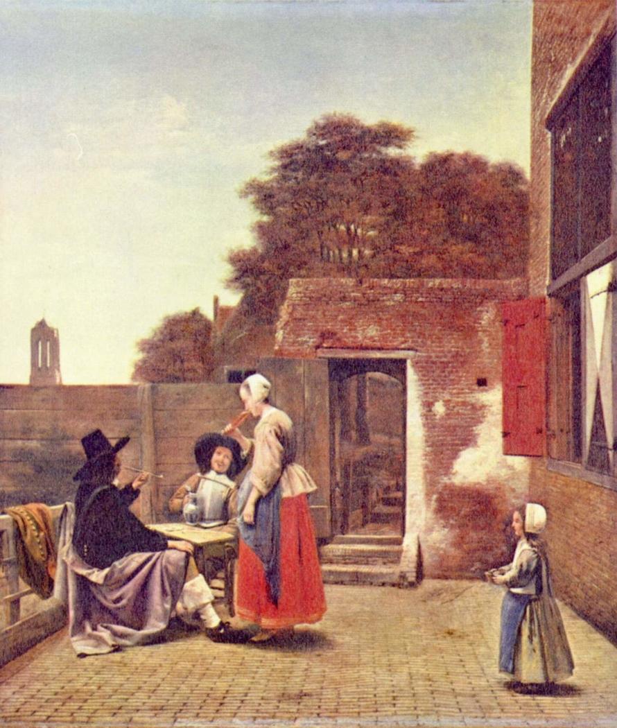 A Dutch Courtyard
