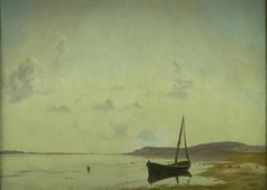 A Stretch of Coast near Frederiksund. Sketch