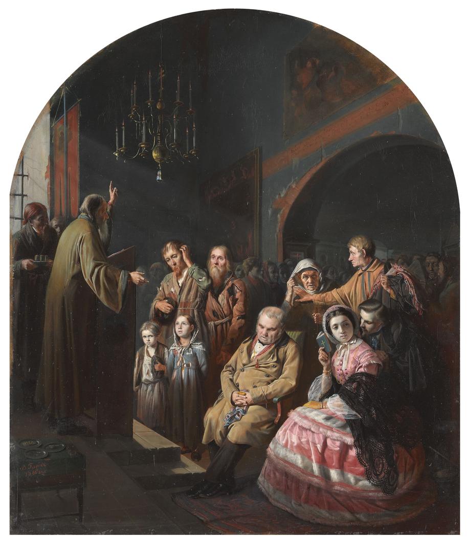 A village sermon